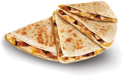 Kids Meat and Cheese Quesadilla