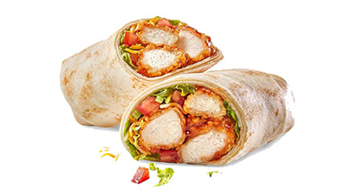 Chester's Crispy Chicken Wrap